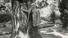 J. R. R. Tolkien en una imagen tomada en 1973.