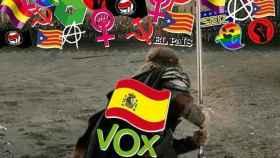Vox contra la República, el feminismo y el colectivo LGTB.