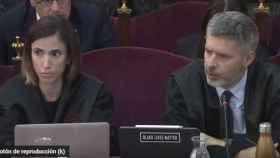 Andreu Van den Eynde, este martes interrogando a sus testigos./
