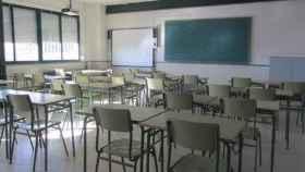 Una de las aulas del instituto de Cuenca. foto: Junta de Castilla La Mancha