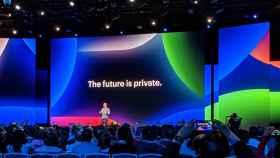 Mark Zuckerberg en la edición del 2019 del F8