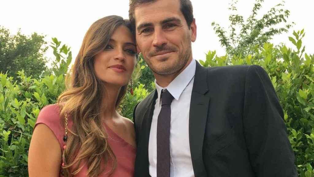 Sara Carbonero e Iker Casillas en una imagen de redes sociales.