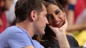 Iker Casillas y Sara Carbonero, al inicio de su relación.
