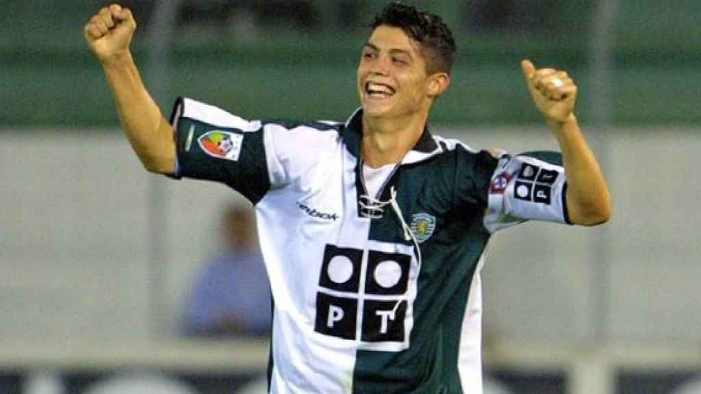 Cristiano Ronaldo en el Sporting de Lisboa