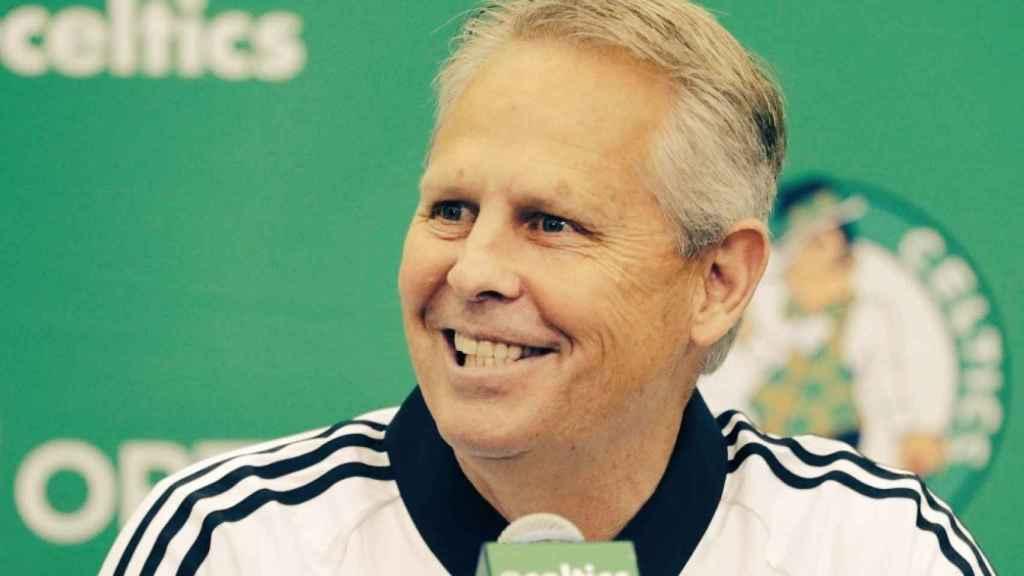 Danny Ainge, mánager general de los Boston Celtics. Foto: Twitter. (@RealBasketFlow)