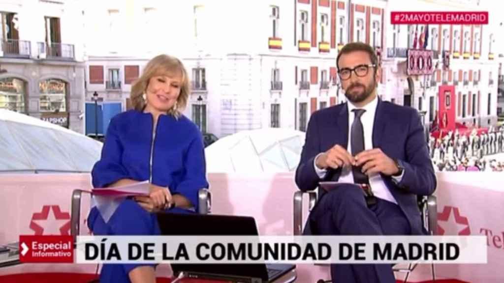 María Rey, periodista de Telemadrid.