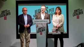 Gonzalo Boye, Josep Costa y Gemma Geis dan cuenta del recurso este jueves./