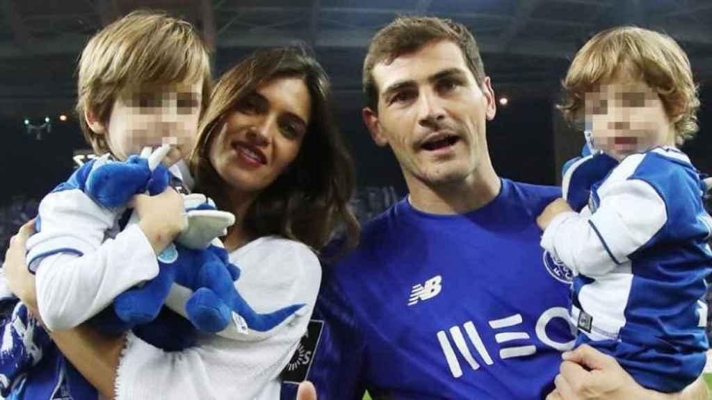 Sara Carbonero e Iker Casillas tienen dos hijos.
