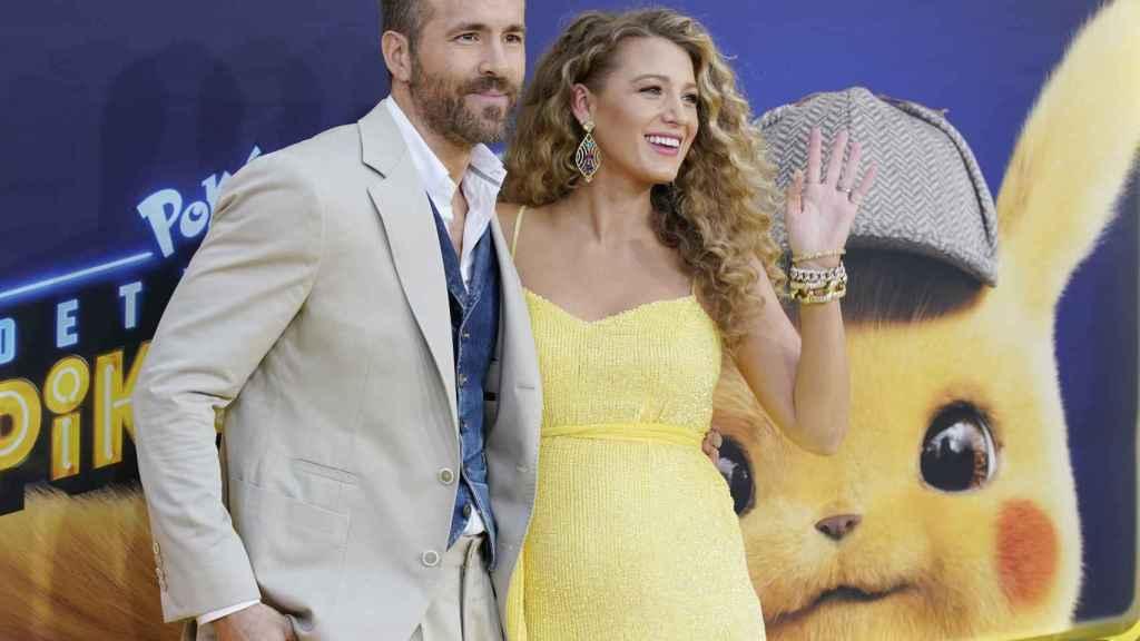 Ryan Reynolds y Blake Lively han desvelado que están esperando su tercer hijo en la première de 'Pokemon: Detective Pikachu'.