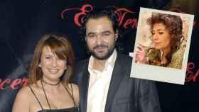 Gema López con su exmarido el día del estreno del corto y una escena del mismo en montaje JALEOS.