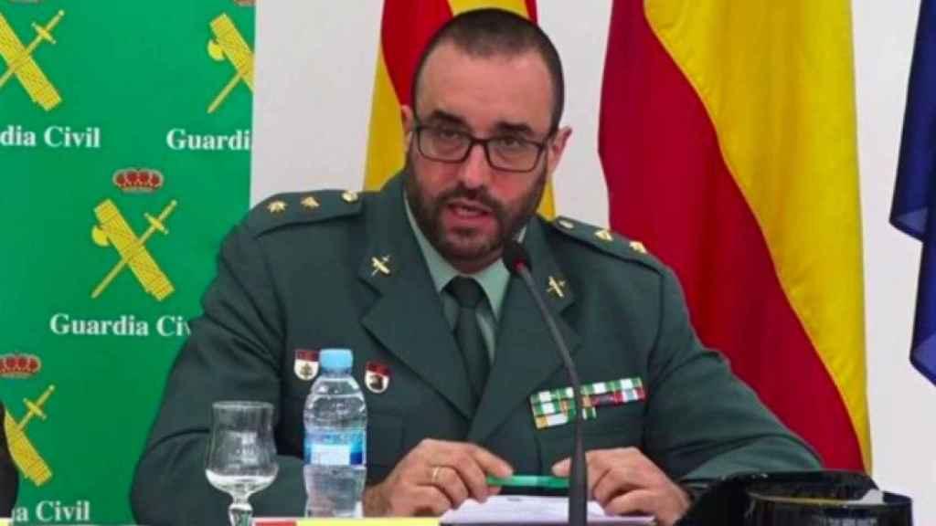 Teniente coronel Baena./
