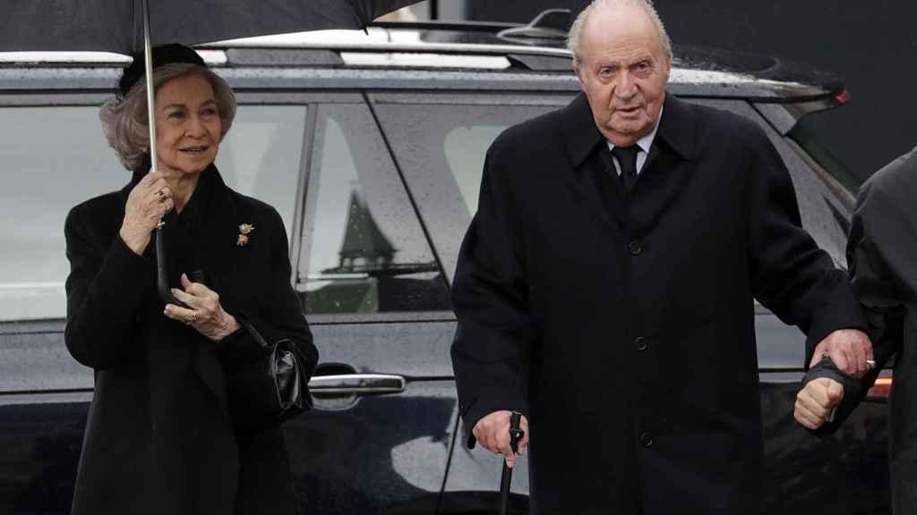 El funeral de Juan de Luxemburgo es el segundo acto oficial al que los monarcas acuden juntos este año.