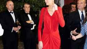 Victoria Federica ha debutado en solitario en la cena de gala previa a su primer acto público.