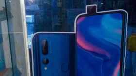 El Huawei Y9 Prime 2019 se filtra mostrando una cámara motorizada