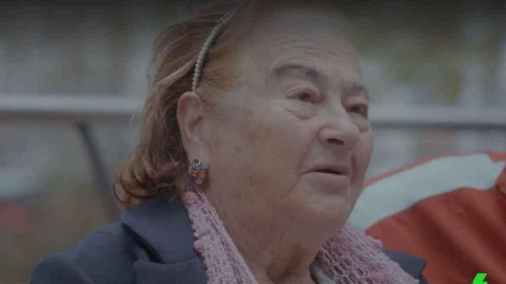 La señora que fue vecina y amiga de Sara Montiel.