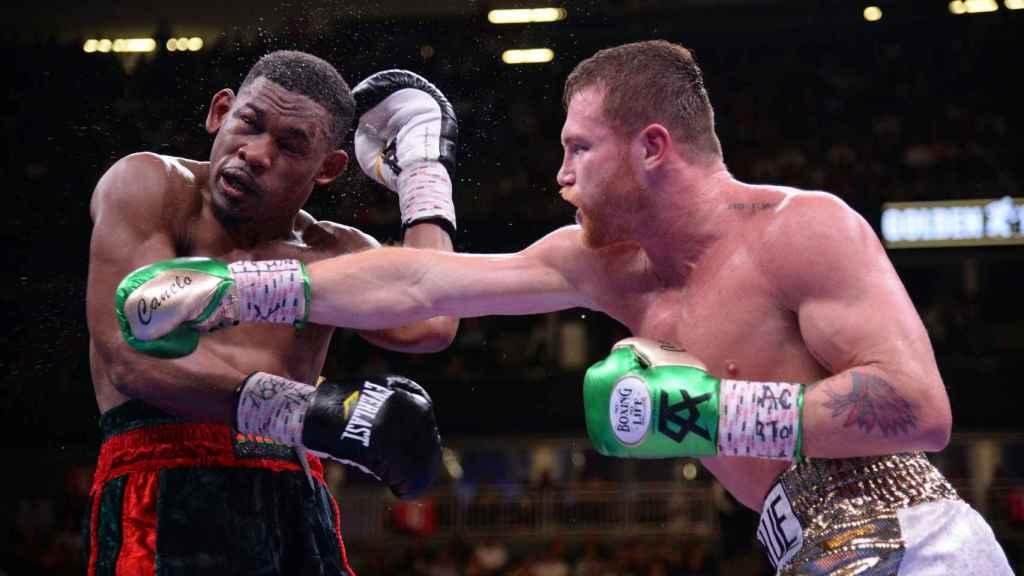 Canelo contra Jacobs, en combate por el título al peso mediano de boxeo