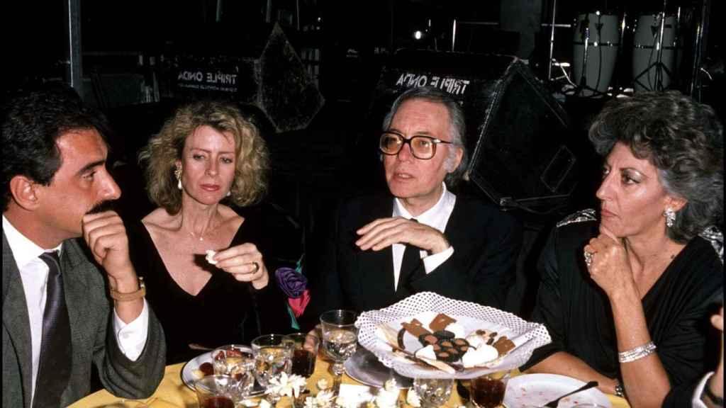 Umbral y Pitita, juntos en una cena. Gtres.