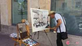 pintura aire libre guijuelo