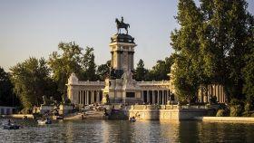 Imagen de archivo del Parque del Retiro en Madrid.