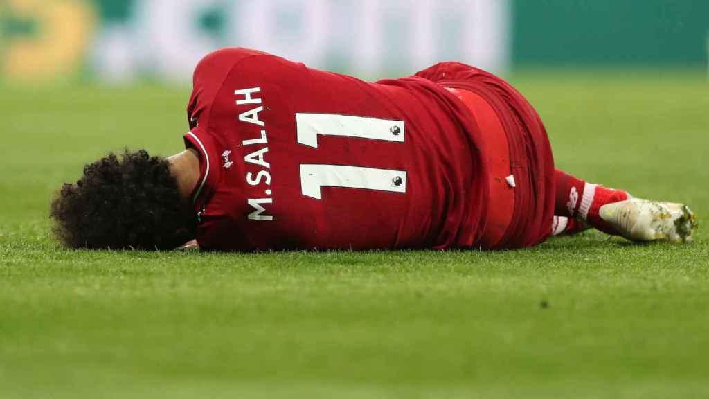 En Egipto aseguran que Salah se perderá el partido de vuelta ante el Barça