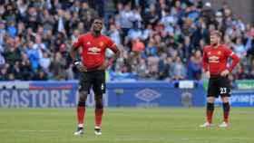 El Manchester United, abatido tras empatar contra el Huddersfield