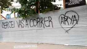 Pintada sobre 'Juego de Tronos' en Buenos Aires