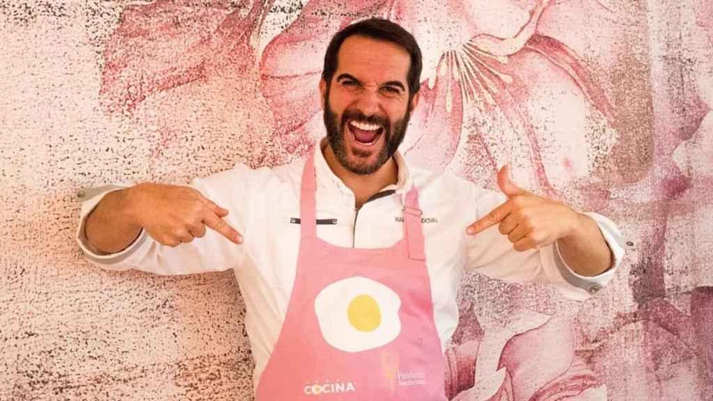 Mario Sandoval en una imagen de redes sociales.