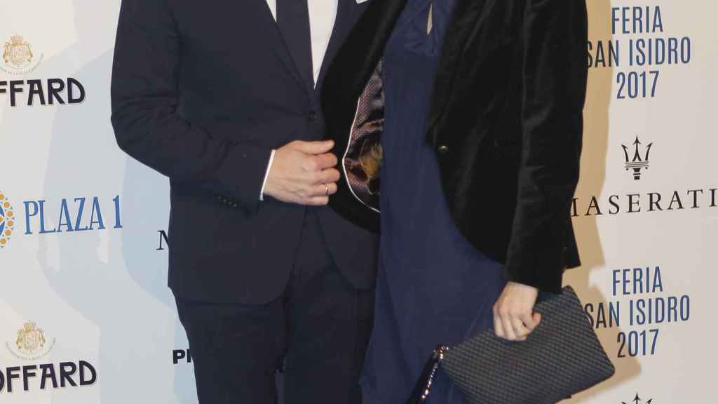 Mario Sandoval y su mujer, Cristina Pérez, en una imagen de archivo.