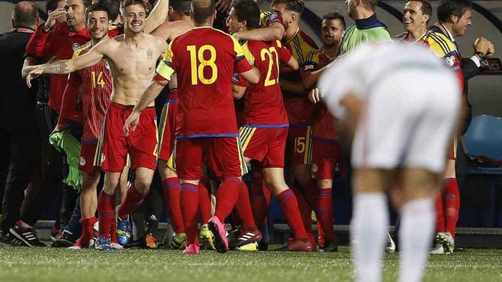 La selección de Andorra