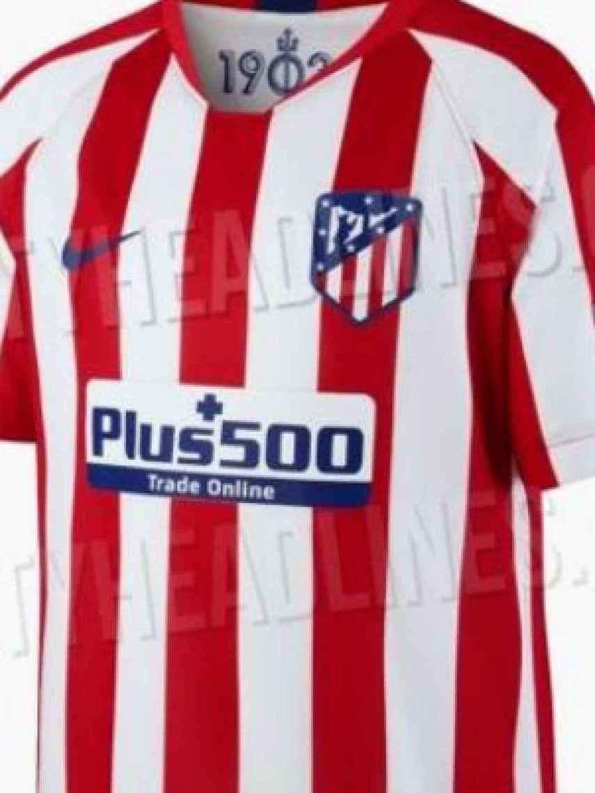 Equipación del Atlético de Madrid para la temporada 2019/2020