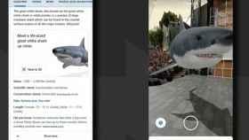 Los resultados de la búsqueda de Google cobran vida con realidad aumentada