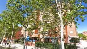 Vivienda en la que han encontrado el cadáver en Madrid