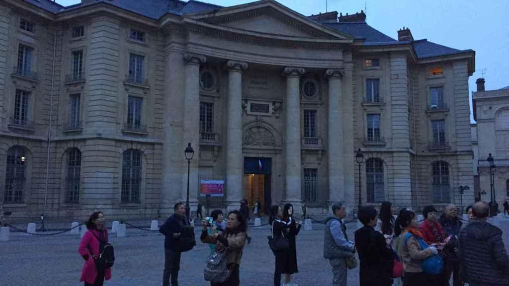 Facultad de Derecho de La Sorbona en París