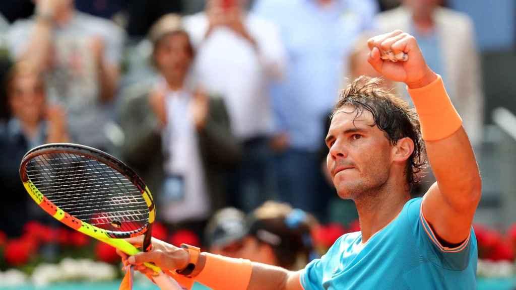 Nadal, tras su victoria en el Mutua Madrid Open