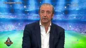 Josep Pedrerol analiza la derrota del Barcelona. Foto: Twitter (@elchiringuitotv)