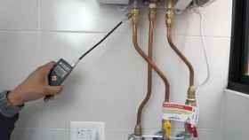 Revisor del gas. Foto: Europa Press