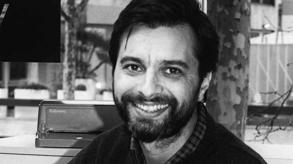 El escritor Alfonso López García.