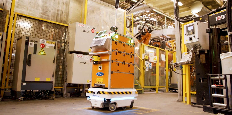 ford robot autonomo 1