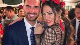 Suso y Amor Romeira en la Feria de Sevilla.