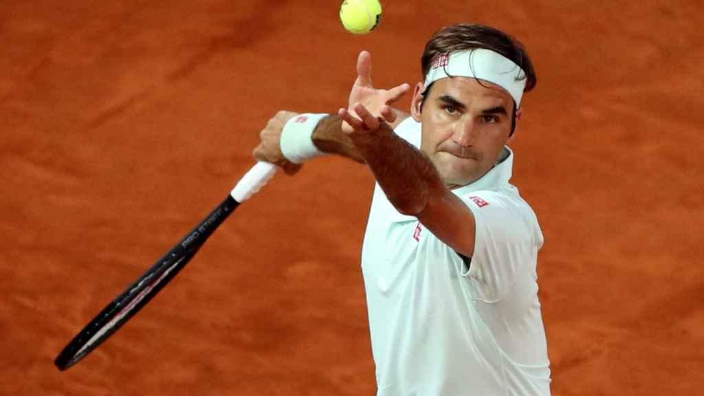 Roger Federer, en el Mutua Madrid Open