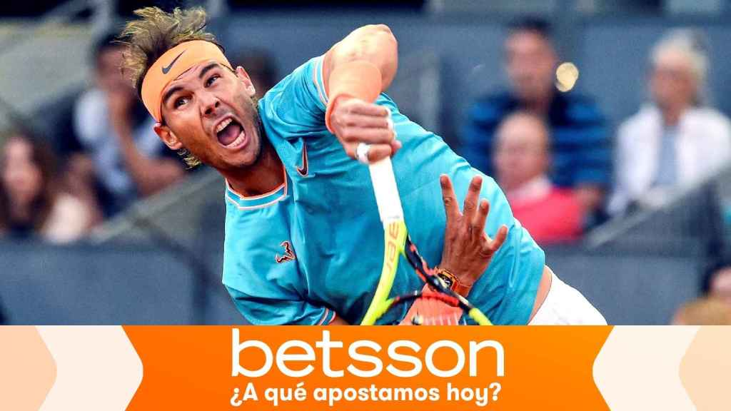 Rafa Nadal, en el Mutua Madrid Open