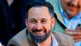 El líder de Vox, Santiago Abascal, en una imagen de archivo.