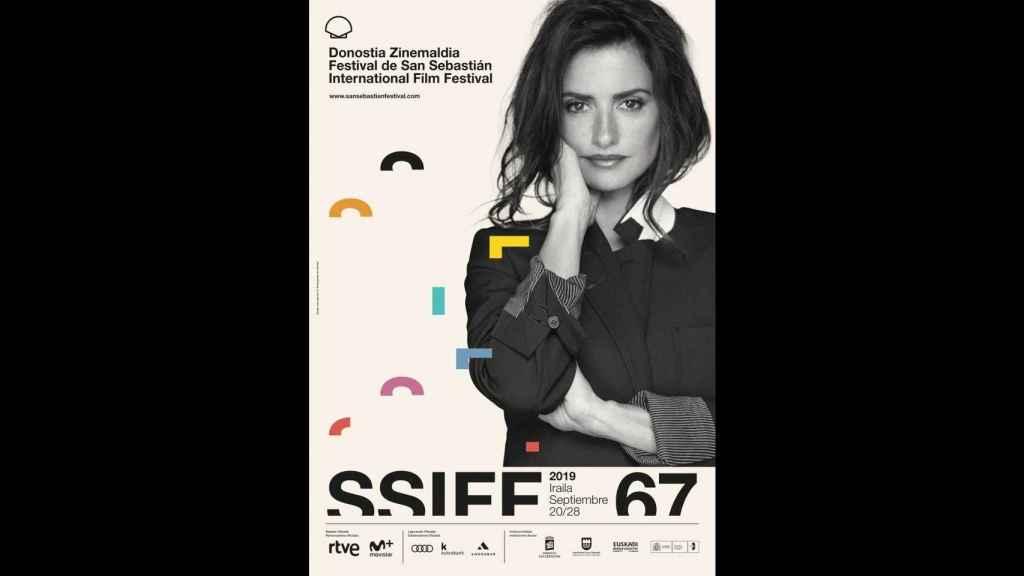 Cartel del festival de cine de San Sebastián.