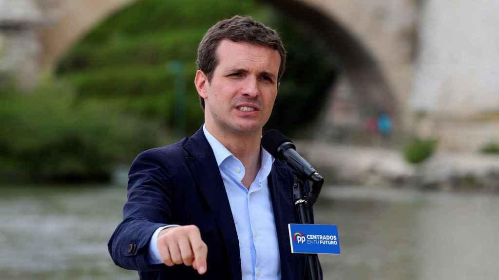 El presidente del PP, Pablo Casado presenta en Zaragoza el programa electoral europeo para las elecciones del 26 de mayo