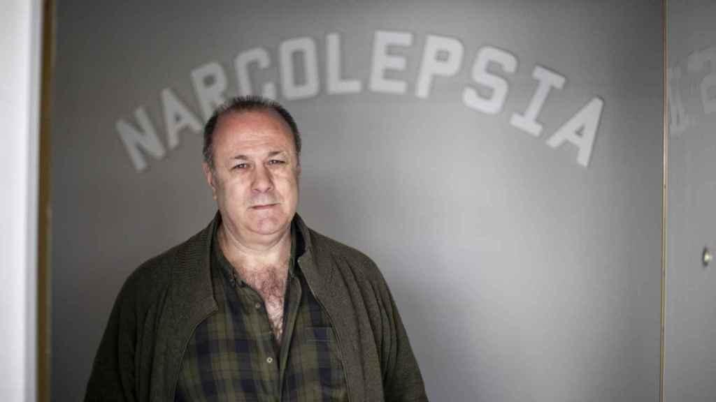 Enrique López, presidente de la Asociación Nacional de Narcolepsia.