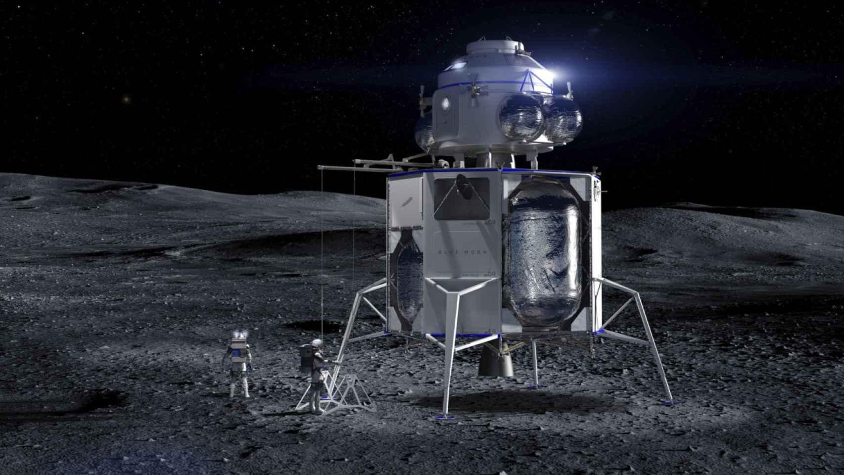 blue moon aterrizador lunar blue origin 1