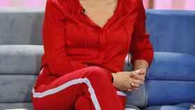 Ana Rosa Quintana en el plató de su programa en Telecinco.