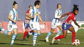 Atlético de Madrid - Real Sociedad, de fútbol femenino. Foto: atleticodemadrid.com