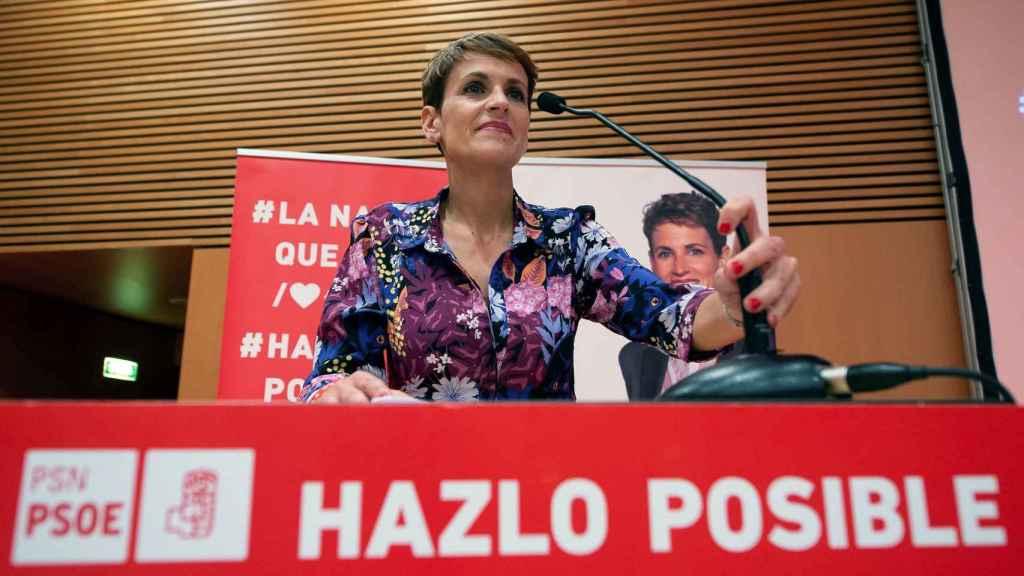 María Chivite será presidenta de Navarra a partir de este viernes.