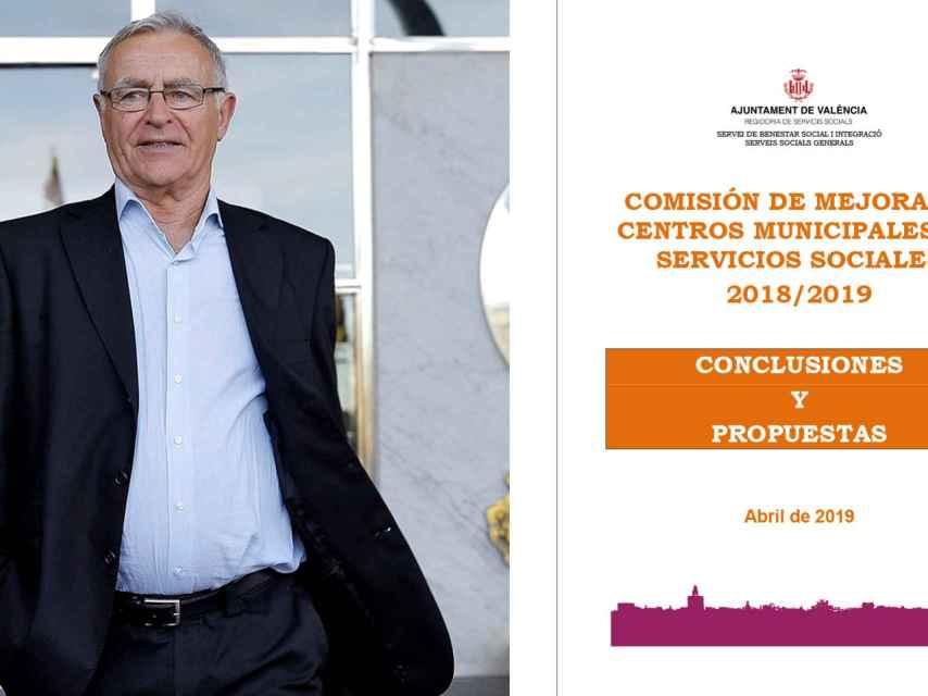 Portada del informe secreto que realizó el Ayuntamiento de Joan Ribó.